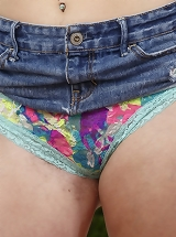 girls touching panties