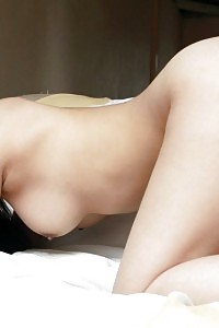 Unclothed Asian Princess Has Exciting Big Breasts And A Big Hairy Pussy She Exhibits Off Smile