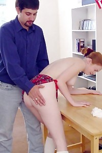 Playful Tart Having Fun With Her Cunt Before Getting Caned