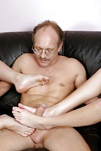Check Out This Indecent Teens As They Go For A Frisky Foot Job In This Hot Orgy